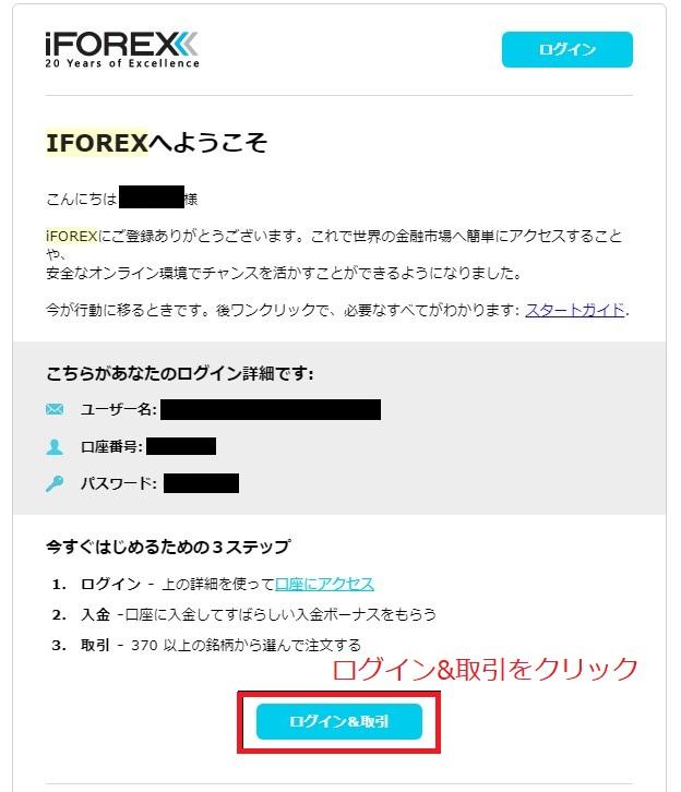 iforexの公式サイト