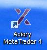 AXIORYのMT4ショートカットが生成